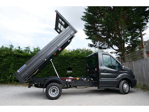 Transit 350 L2 Bison Tipper 170ps Euro 6, Air Con & 6,300kg train mass 1996 2dr Tipper Six speed manual Diesel