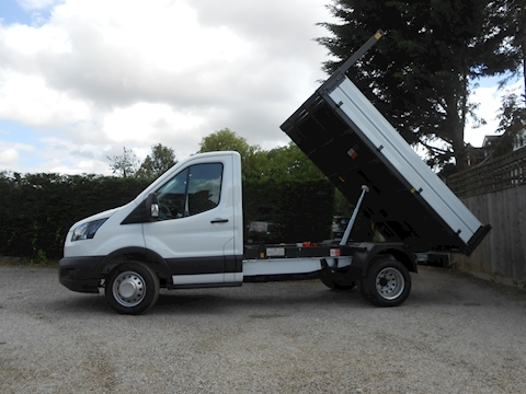 Ford Transit 350 L2 Mwb Bison Tipper 2.0 130ps Euro 6, 6,500kg train mass