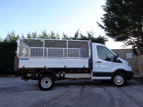 Ford Transit 350 L2 Mwb Bison Tipper 2.0 130ps with removable cage kit