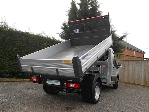 Ford Transit 350 L2 Bison Tipper 2.0 170ps Euro 6, High spec in cab air con, 6,300kg gross train mass