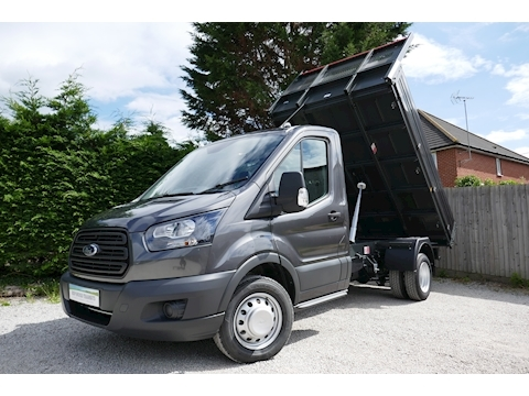 Ford Transit L2 350 Bison Tipper 2.0 130ps Euro 6 - 6,500kg train mass