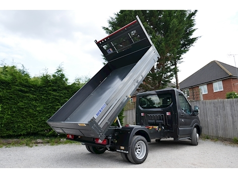 Transit L2 350 Bison Tipper RARE 2.0 170ps Euro 6 6,300kg train mass for towing 1996 2dr Tipper Six speed manual Diesel