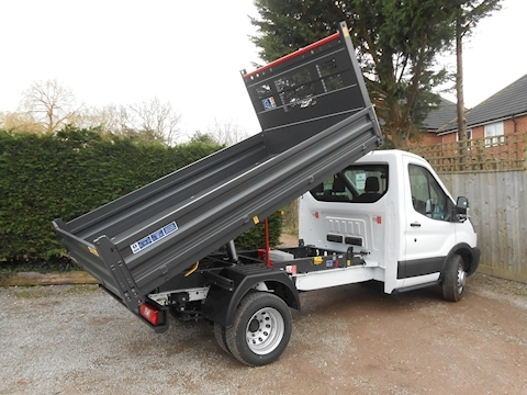 Transit 350 L2 RARE ALL STEEL BISON TIPPER 2.0 130ps Euro 6 1996 2dr Tipper Six speed manual Diesel