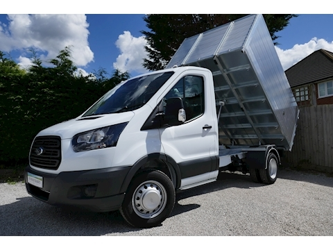 Ford Transit 350 L2 High sided Tipper 2.0 130ps Euro 6 - Ideal for waste removal