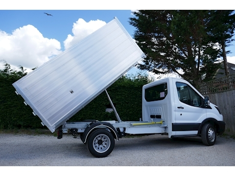 Transit 350 L2 High sided Tipper 2.0 130ps Euro 6 - Ideal for waste removal 1996 2dr Tipper Six speed manual Diesel
