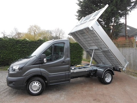 Transit 350 L2 Alloy Cage Tipper 2.0 130ps inc Cab Air Con 1996 2dr Tipper Six speed manual Diesel