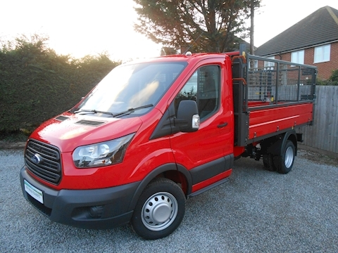 Transit 350 Bison Cage Tipper 2.0 130ps Euro 6 DRW RWD 1996 2dr Tipper Manual Diesel