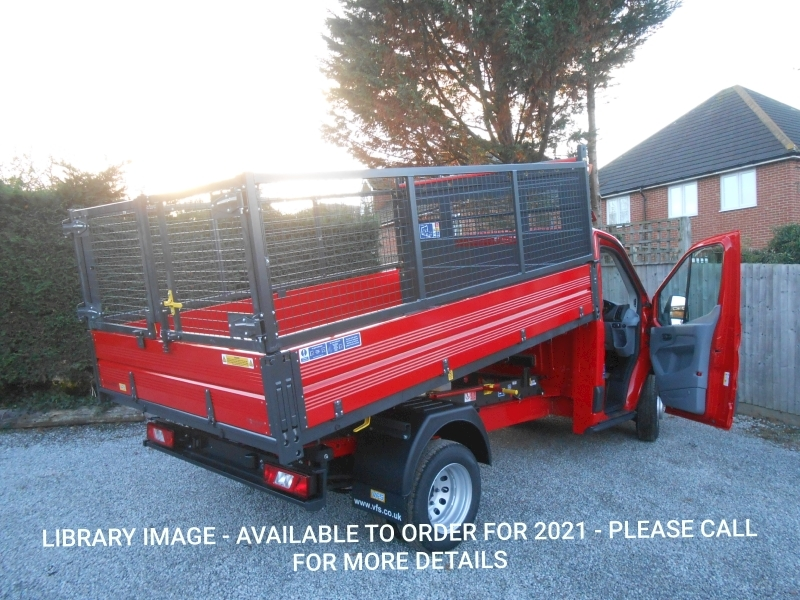 Transit 350 L2 Bison Cage Tipper 2.0 130ps Euro 6 DRW RWD 1996 2dr Tipper Manual Diesel