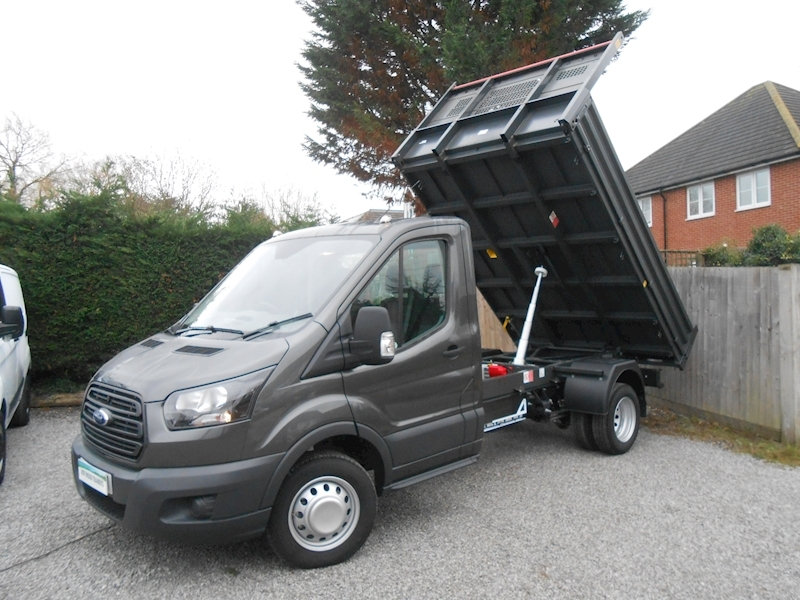Transit 350 L2 ALL STEEL BISON Tipper 2.0 130ps Euro 6 DUAL rear wheels Tipper 1996 Manual Diesel