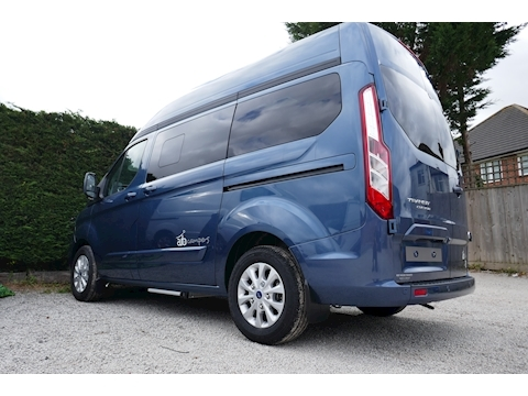 Transit Custom 130ps Limited Auto Camper Hi-line MRV 2 Camper manual Diesel