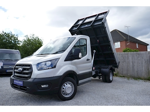 Ford Transit 350 L2 Bison Tipper 2.0 130ps Large towing capacity