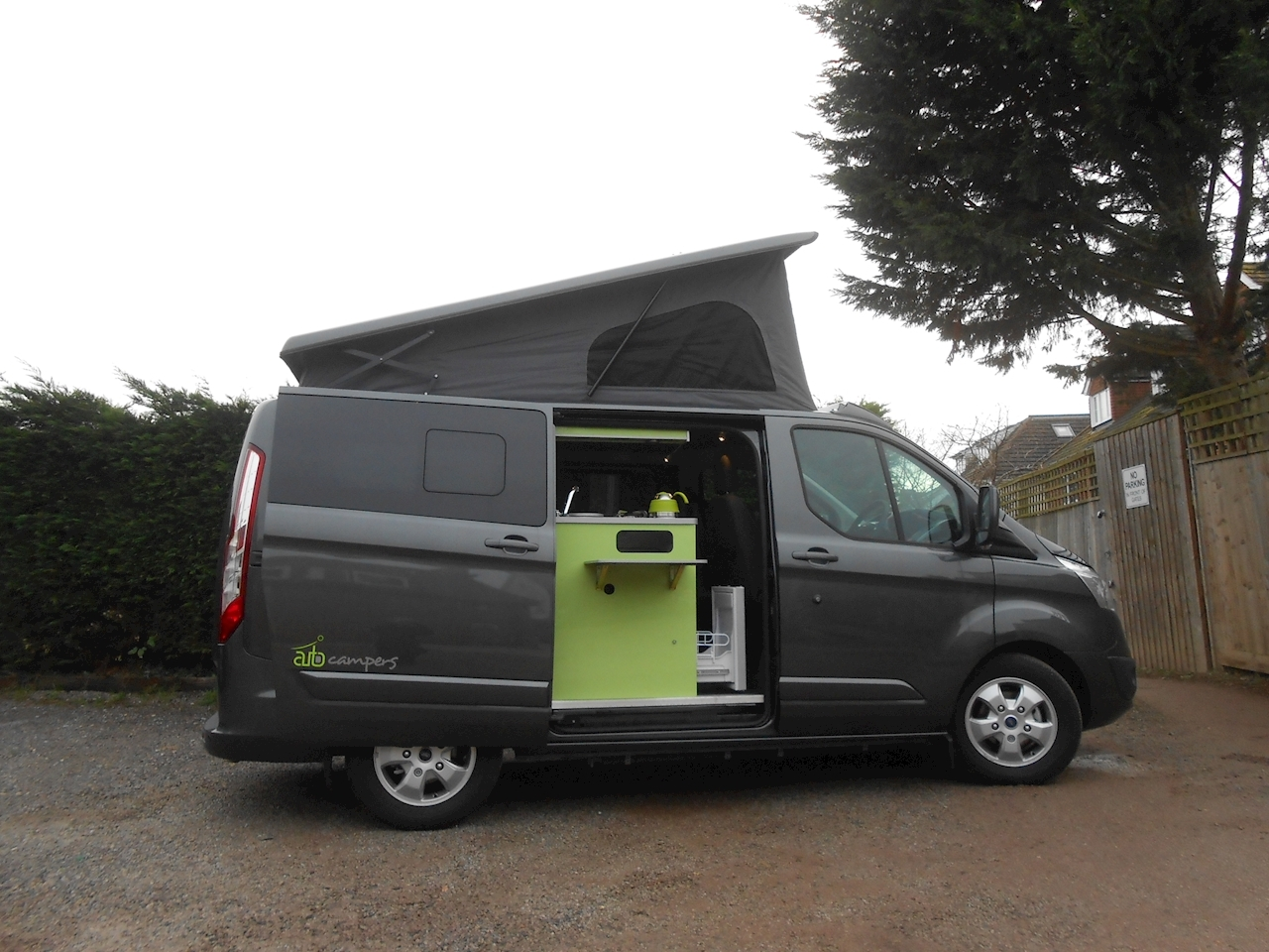 used ford transit custom auto camper automatic leisure van auto campers. Black Bedroom Furniture Sets. Home Design Ideas