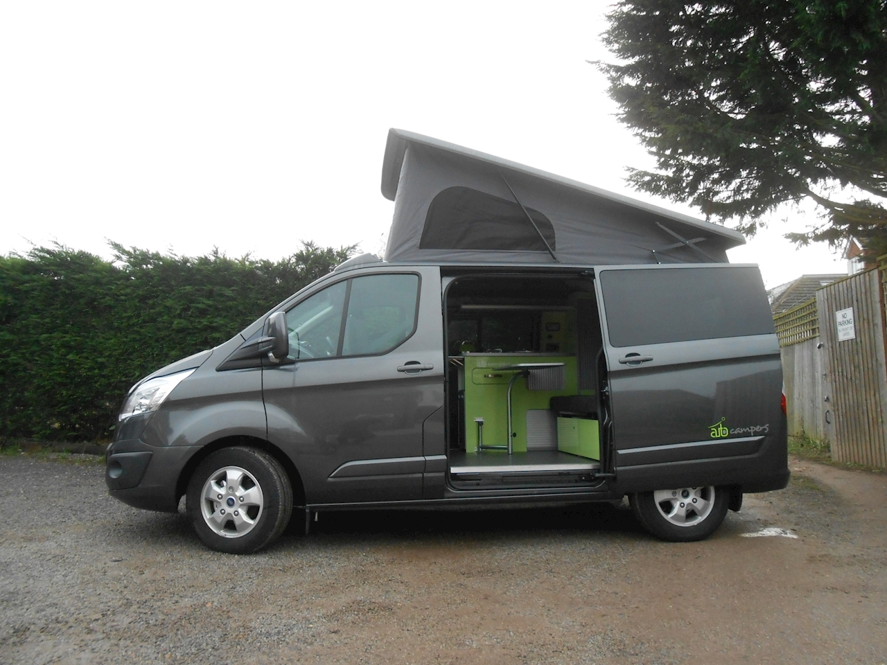used ford transit custom auto camper automatic leisure van. Black Bedroom Furniture Sets. Home Design Ideas