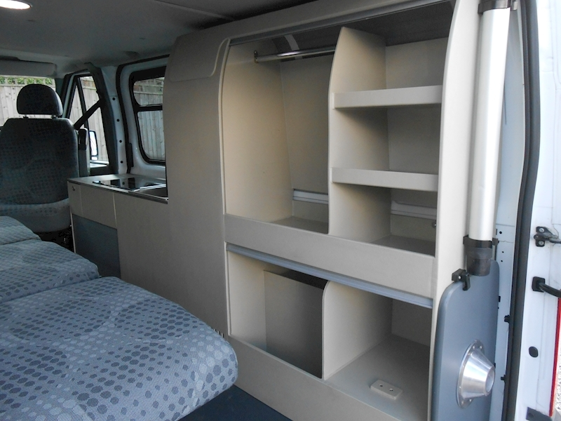 used ford transit 260 swb low roof auto camper day van camper auto campers. Black Bedroom Furniture Sets. Home Design Ideas
