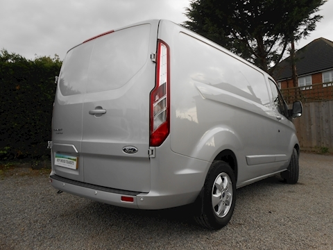 Ford Transit Custom 290 Limited L1 H1 Van 2.0 130ps Euro 6 2,400mm load length Great to drive with Euro 6 power