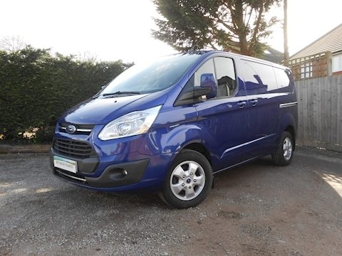 Ford Transit Custom 290 Limited L1 H1 Diesel Van 2.0 130ps Euro 6 - Low miles - IN STOCK TODAY