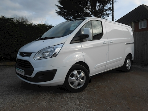 Ford Transit Custom 290 Limited L1 H1 Diesel Van 2.0 130ps Euro 6 Great Condition, Ford Warranty to June 2020