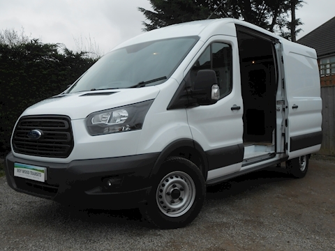 Ford Transit 350 L3 H2 Diesel Van 2.0 130ps Euro 6 with parking sensors front and back