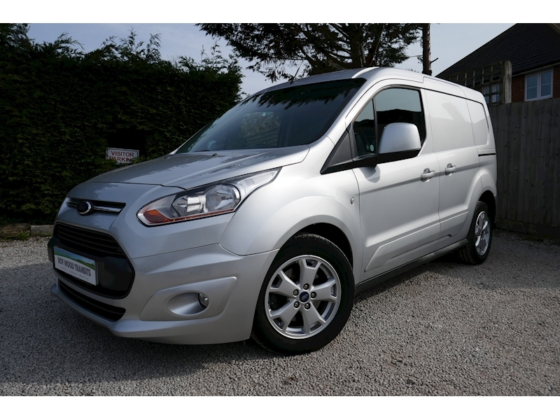 Transit Connect 200 Limited Van 1.6 115ps Six speed - 33k - Six month warranty 1.6 5dr Panel Van Manual Diesel
