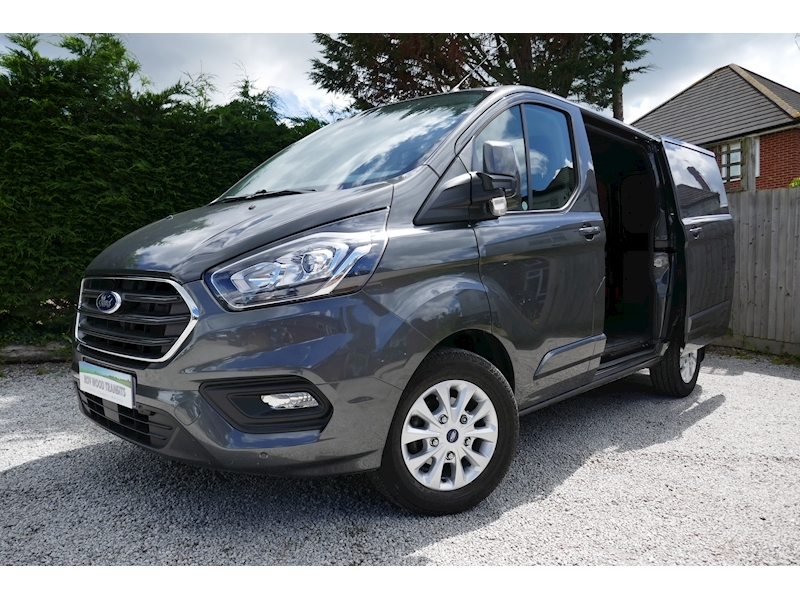 Transit Custom 300 Limited L1 H1 2.0 130ps Euro 6 - 2,400mm load length 2.0 5dr Panel Van Manual Diesel