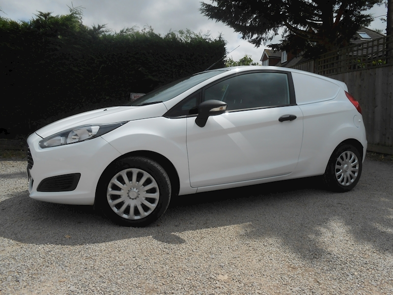 Fiesta Base Tdci 1.5 3dr Car Derived Van Manual Diesel