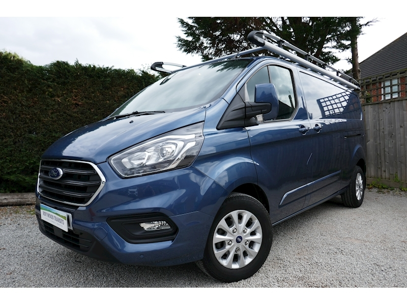 Transit Custom 300 Limited L2 H1 2.0 130ps Euro 6 Van - Only 9k miles 2.0 5dr Panel Van Manual Diesel