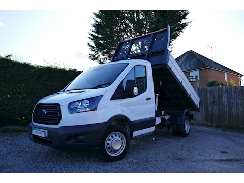 Ford Transit 350 L2 One Stop Tipper 2.0 130ps Euro 6 DRW RWD - Excellent condition Tipper