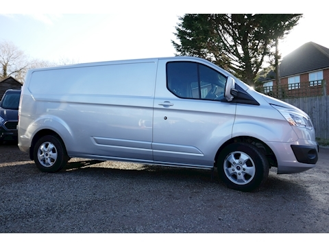 Ford Transit Custom 290 Limited Lwb low roof Limited van 2.2 125ps Euro 6 Six speed