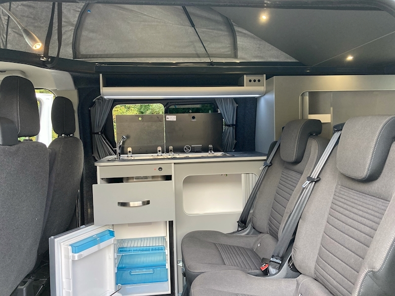 Ford Transit Custom Auto Camper pop top Eco line 130ps - 12