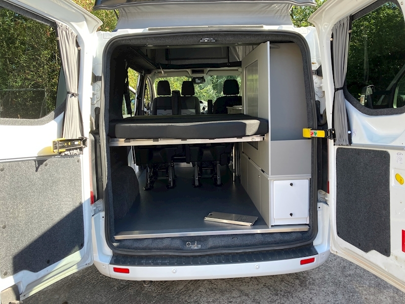 Ford Transit Custom Auto Camper pop top Eco line 130ps - 19
