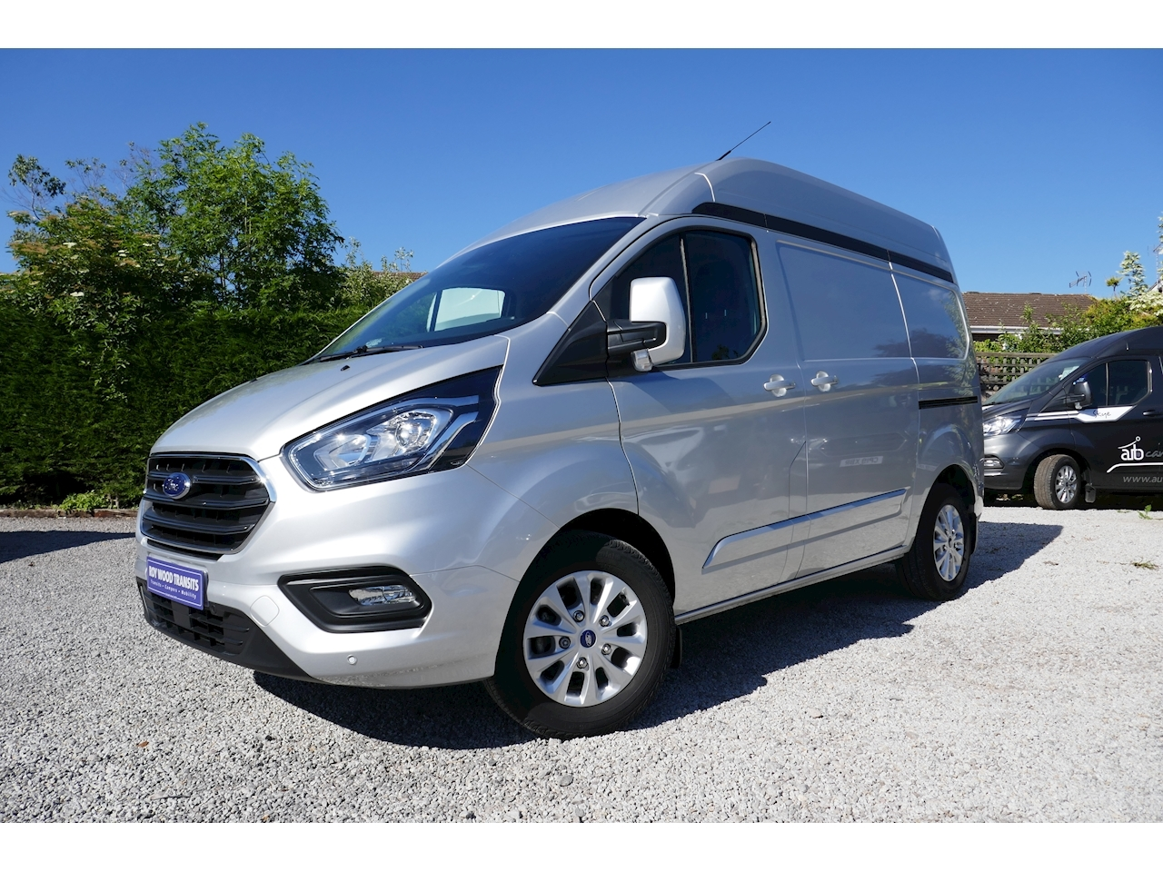 Used Ford Transit Custom 300 Limited L1 H2 130ps Euro 6 Diesel Van Only 3k Miles U9158 For Sale