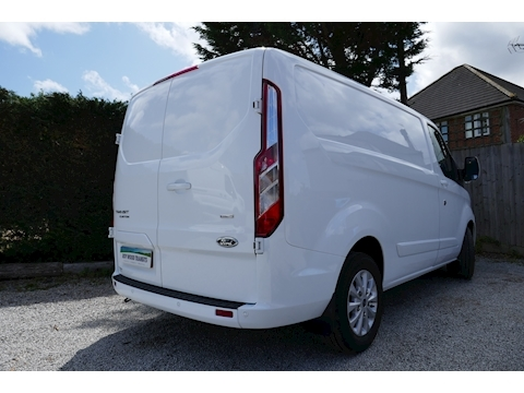 Transit Custom 300 Limited L1 H1 130ps Euro 6 - Warranty to April 2022 2.0 5dr Panel Van Manual Diesel