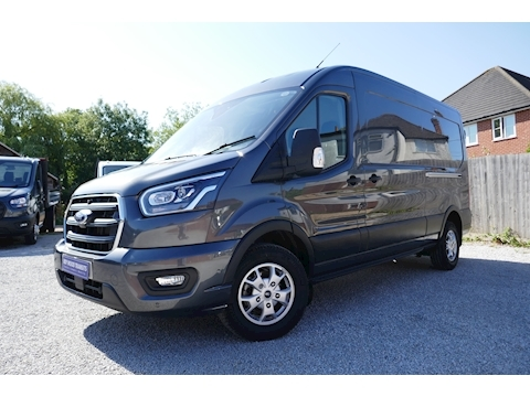 Ford Transit 350 L3 H2 Limited 2.0 185ps Euro 6 Diesel Van FWD - Top spec with Nav and rear camera