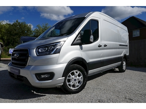 Ford Transit 350 Limited L3 H2 FWD 2.0 185ps Euro 6.2 - Great condition - Warranty to Dec 2022