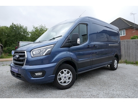Ford Transit 350 L3 H2 Limited 2.0 185ps RWD Van - High spec with Nav & Camera