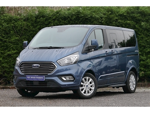 Ford Tourneo Custom WAV Titanium, Independence RE, Mobility, 5 seats, 1 wheelchair.