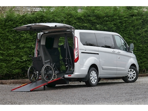 Tourneo Custom WAV Titanium, Independence RS, Mobility, 6 seats, 1 wheelchair, Automatic 2.0 5dr MPV Automatic Diesel