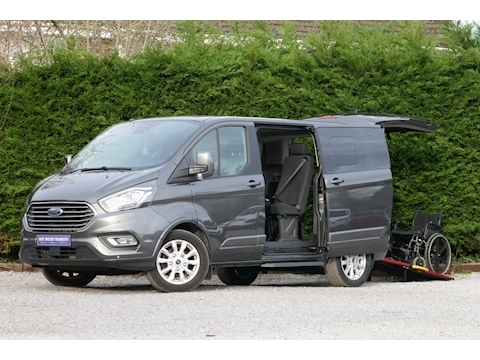 Ford Tourneo Custom WAV Titanuim, Independence RS, Mobility, 4 seats 1 wheelchair