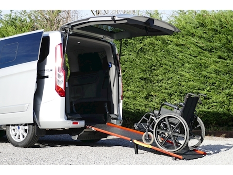 Tourneo Custom WAV Titanium, Independence RS, Mobility, 4 seats 1 wheelchair 2.0 5dr Minibus Manual Diesel