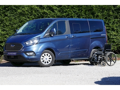 Ford Tourneo Custom WAV Titanium, Independence RS, Mobility, 6 seats 1 wheelchair, Automatic
