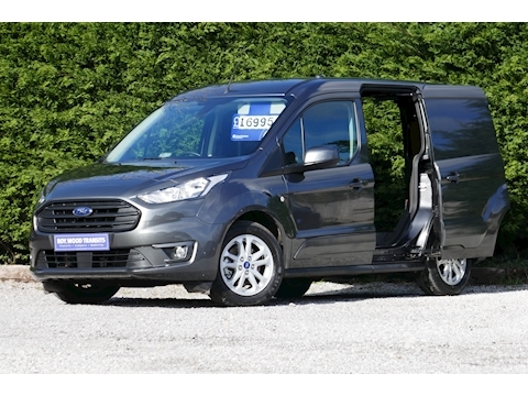 Ford Transit Connect 200 L1 Limited 1.5 120ps Euro 6 Diesel Van - ONLY 5k miles
