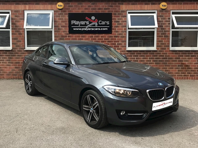 2 Series 220I Sport Coupe 2.0 Automatic Petrol