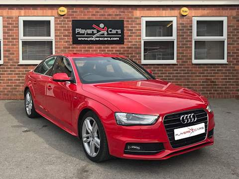 A4 Tdi S Line Saloon 2.0 Manual Diesel