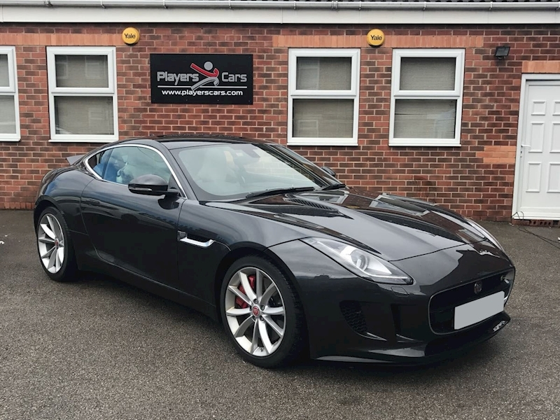F-Type V6 S Coupe 3.0 Automatic Petrol