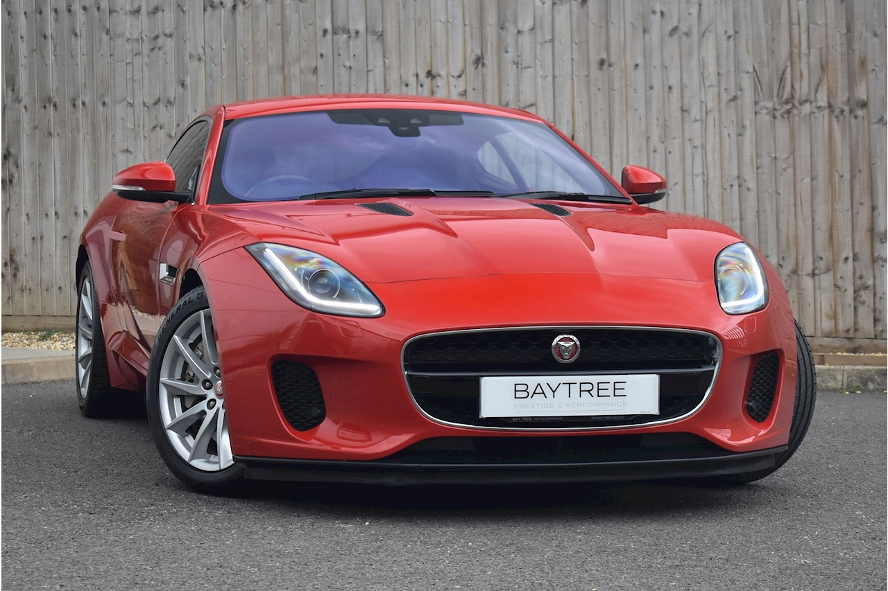 F-Type R-Dynamic Coupe 3.0 Manual Petrol