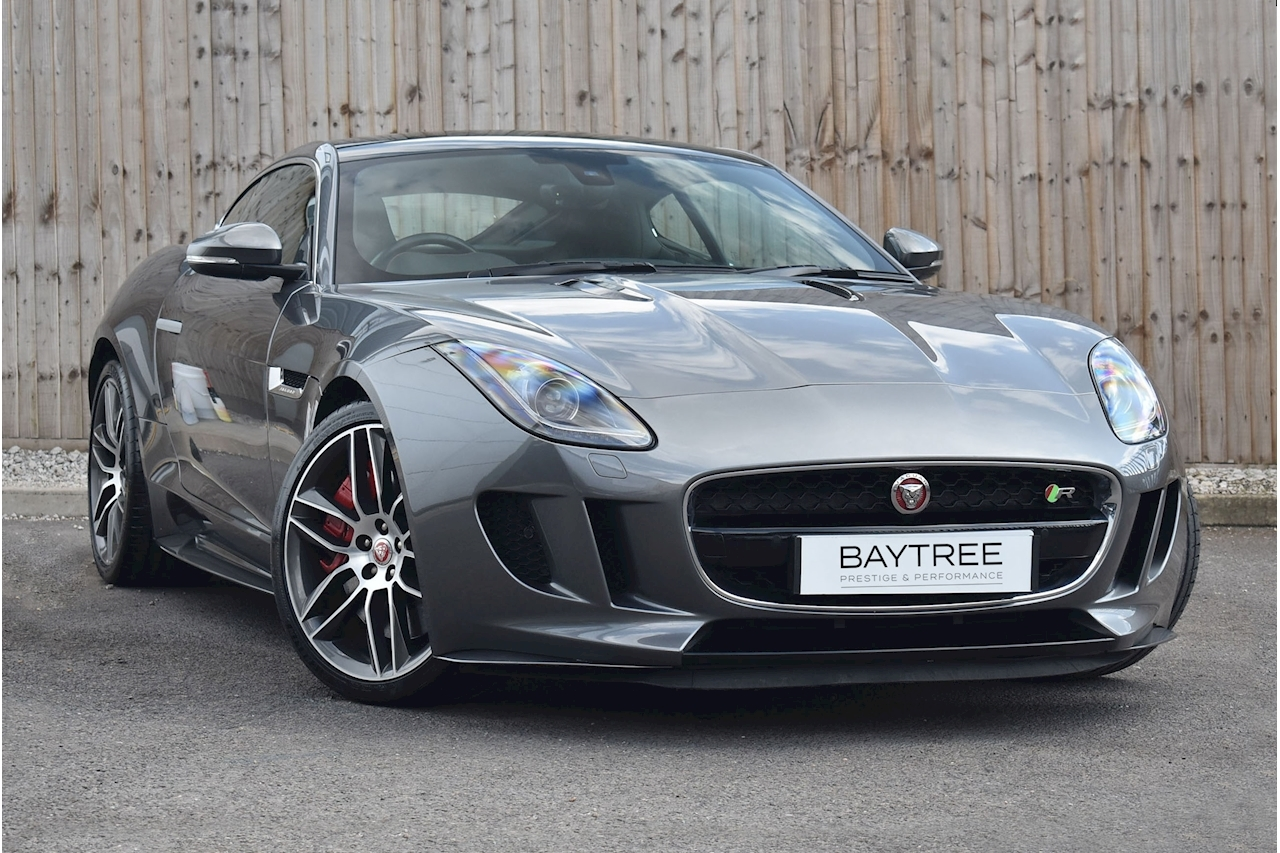 F-Type R 5.0 2dr Coupe Quickshift Petrol