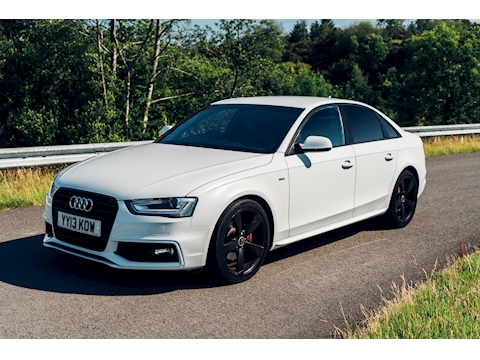 Audi A4 Tdi S Line Black Edition Saloon 2.0 Manual Diesel