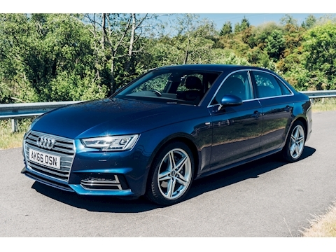 Audi A4 Tdi Ultra S Line Saloon 2.0 Manual Diesel