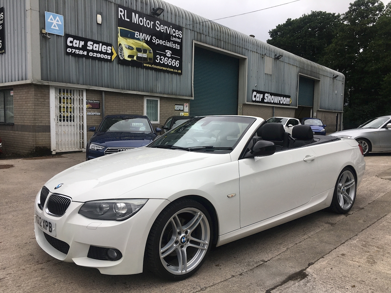 3 Series 320d Sport Plus Edition Convertible Convertible 2.0 Manual Diesel