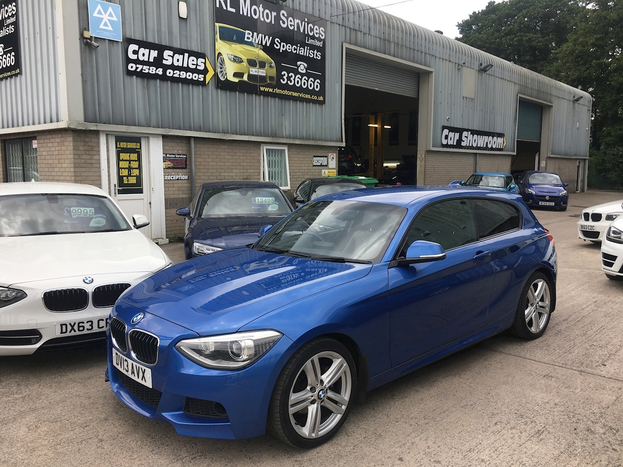 1 Series 120d M Sport 3 door 3 Door Sports Hatch 2.0 Manual Diesel